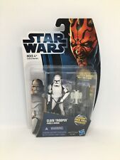 Star Wars the clone wars 2012 phase 2 clone trooper action figure