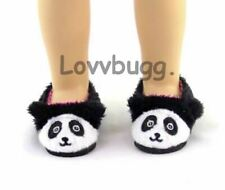 "Panda Slippers Fits Wellie Wishers 14.5"" American Girl Clothes Shoes Lovvbugg"