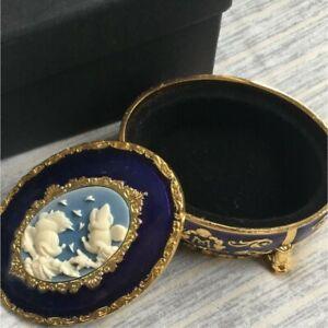 Tokyo Disney Sea Hotel MIRACOSTA Mickey & Minnie Jewelry case accessory RARE