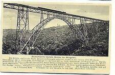 F 380- Brücke Müngsten Solingen-Remscheid m. Beschreibung Feldpost 1939 gelaufen