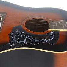 """Black Guitar Pickguard PVC Guitar Scratch Plate For Acoustic 41"""" Guitar Parts"""