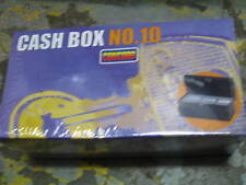 Cash Box, Lockable comes with 2 keys. Blue in colour.