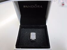 RETIRED PANDORA LONDON CALLING CHARM W/BOX-791202EN49-FREE SHIP & FREE GIFT