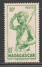 Madagascar (French) #269 (A17) VF MINT LH - 1946 10c Southern Dancer