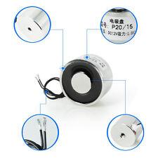 Holding Magnet Electric P20 / 15 Lifting 2.5 KG Electromagnet Solenoid DC 24 V