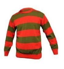 Acrylic Tops & Shirts Fancy Dress Men's Freddy Krueger