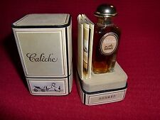 Vtg Hermès Calèche 1/2 oz 15 ml Pure Perfume first women's fragrance from Hermès