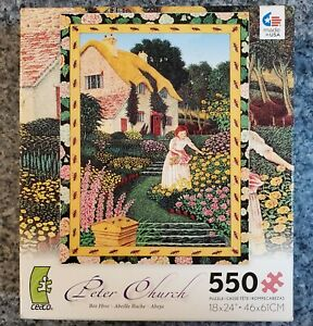 NEW Ceaco 550 piece puzzle BEE HIVE Peter Church