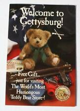 Boyds Bear Country in Gettysburg Pa-Now Closed-120,000 Square Foot Barn Postcard
