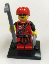 Genuine LEGO Minifigure Mountain Climber - Complete - from Series 11 - col171