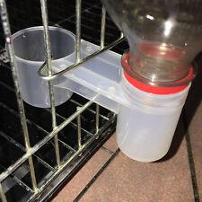 Plastic Dove Water Deflector Drinker Pop Bottle Fount For Pigeons Birds Supplies