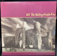 U2 – The Unforgettable Fire (vinyl LP) FREE SHIPPING