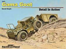 M561 Gama Goat Detail in Action, Korean War jeep (Squadron Signal 39003)
