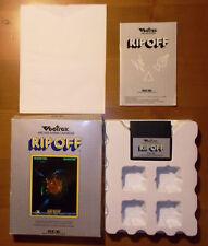"""Vectrex Modul (Spiel) von 1983 """"RIP OFF"""", OVP, ohne Spielschablone, gebraucht!"""
