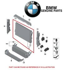 NEW BMW F15 X5 F16 X6 sDrive35i xDrive35i Radiator Genuine 17 11 7 807 624