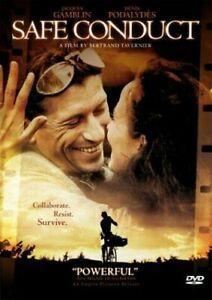 Safe Conduct DVD Laissez Passer French Movie REG 1 - WW2 World War II - Rare