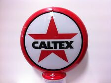 CALTEX TEXACO PREMIUM REPRODUCTION PETROL BOWSER GLOBE LIGHT