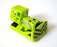 MICRO MACHINES CONSTRUCTION BULLDOZER GALOOB VTG 1987 TOY WORK VEHICLE GREEN HTF