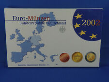 BRD KMS 2002 D  PP PROOF   COIN SET  (K16)
