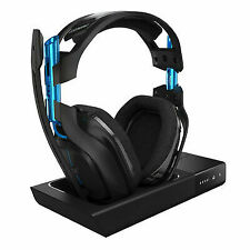 Astro A50 Black Over the Ear Wireless Gaming Headset with Base Station