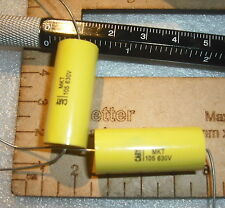 105j 105 1000nf 1uF 1mfd 5% 630v axial metallized polyester capacitor cap