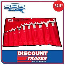 888 Tools by SP Jumbo Combination Spanner Set 10 Piece SAE Imperial - T810070