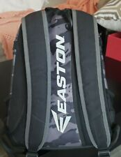 Easton Game Ready Black, Gray Camo Baseball/Softball Backpack
