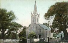 PRINTED POSTCARD OF LIFF PARISH CHURCH, DUNDEE, ANGUS, SCOTLAND BY WRENCH