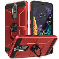 For LG Stylo 4 Plus /Q Stylus Phone Case Hard Armor Shockproof Rugged Back Cover