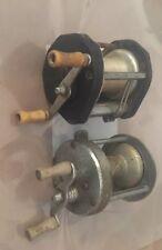 Vintage Fly Fishjng Reels. Jc Higgins Sears Etched Reel 537 3101 47B Models.