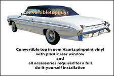 OLDSMOBILE CONVERTIBLE TOP-DO IT YOURSELF PKG 1961-1964 (88s, Starfire, etc.)