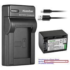 Kastar Battery Slim Charger for Sony NP-FH70 & DCR-DVD705 DCR-DVD708 DCR-DVD710