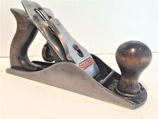 Metall-Hobel Stanley No. 4 Made in England-Messer scharf