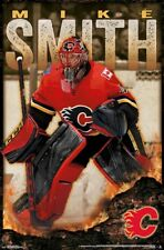 MIKE SMITH - CALGARY FLAMES POSTER - 22x34 - NHL HOCKEY 16265