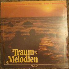 """SCHALLPLATTE    """"TRAUM MELODIEN""""   VON 1982, AMIGA  LP , DDR, OSTALGIE<"""