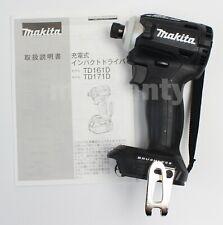 Makita TD171DZ Impact Driver TD171DZB Black 18V Body Tool Only