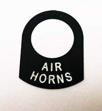 AIR HORNS Land Rover Classic race rally car IVA lucas switch tag