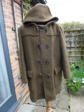 Vintage British Brown Wool Traditional Dufflecoat Duffel Coat