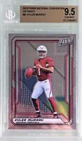 Kyler Murray 2019 Panini The National VIP Rookie Silver Prizm BGS 9.5