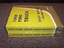 1968 Ford F100 F250 F350 F-Series Truck Workshop Shop Service Repair Manual Set