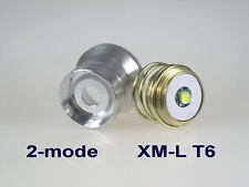 CREE XM-L T6 module for 26.5mm 3.7- 4.2v 2-mode with reflector