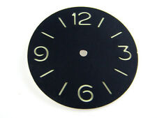 37.5mm Watch Case Fit Unitas ETA 6497 6498 Luminous Black Dial