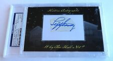 Lefty Gomez 2012 Historic Autograph Why the Hall Not? PSA/DNA NY Yankees # 4/14