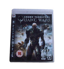 QUAKE WARS Enemy Territory (15) Activision   2008 Sony Playstation 3 Game