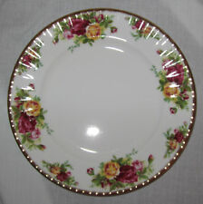 Royal Albert Old Country Rosas Ensaladera 20cm Gb Porcelana Inglaterra