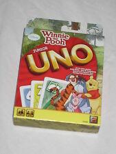 Mattel 54480 - UNO Junior Winnie Puuh Kartenspiel