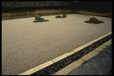 065094 Ryoanji Zen Temple Rock Garden A4 Photo Print
