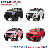 12V Kids 3-Speed Ride On Car Battery-Powered Truck w/ 2.4GHZ Remote Control US