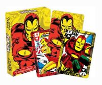 Marvel Comics THE INVINCIBLE IRON MAN Playing Cards Licensed Product Brand New