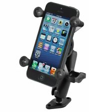 RAM-B-102-UN7U RAM Flat Surface Drill Down Mount w/ X-Grip Cradle for Smartphone